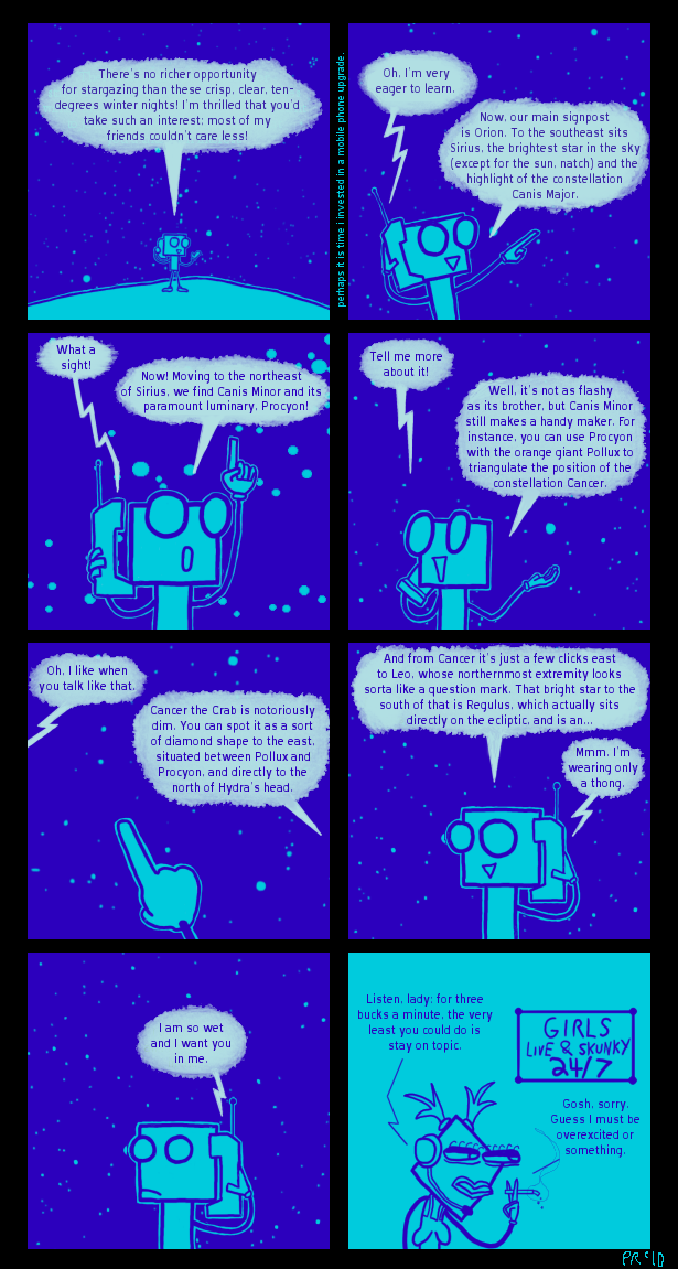 Stargazing Comic!